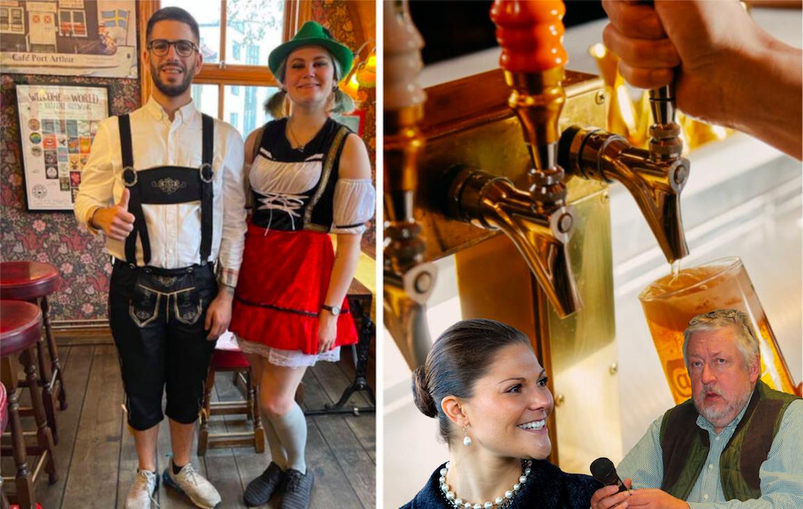 """Leif GW Persson och Kronprinsessan populäraste kändisarna att dricka bärs med – Hisingskrögaren: """"Haha, nej"""""""